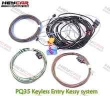 PQ35 Keyless Entry Kessy Cavo di Sistema di Arresto di Inizio del Sistema di Cablaggio del Cavo di Legare Per VW Golf 6 Jetta MK6