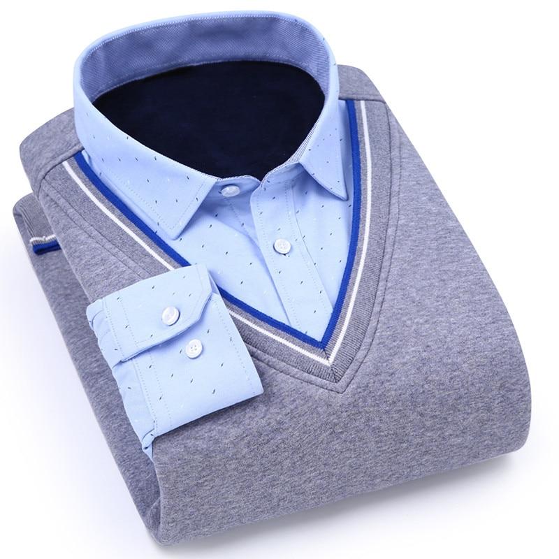 01d287bbdc3 ⓪Горячие Для мужчин рубашка на осень-зиму Новинка 2017 Для мужчин S ...