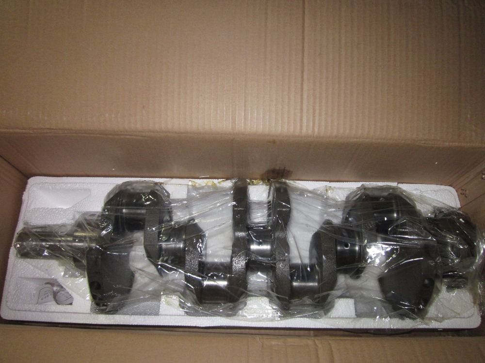Jiangdong JD490BT JD495BT for tractor like Jinma, Luzhong series tractor, the crankshaft, part number: led star ca 410