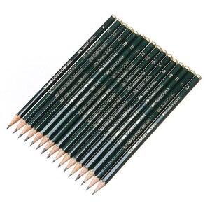 Image 4 - Faber castell 12 Pcs מותג (6H 8B) סקיצה ציור עיפרון אישית סטנדרטי עפרונות שחור ציור עיפרון