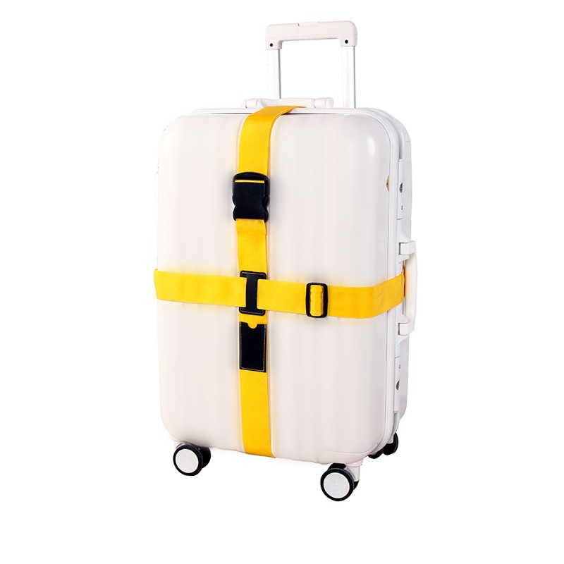 все цены на Travel Trolley Suitcase Personalized Safe Packing Belt Adjustable Cross Luggage Straps Parts Items Accessories Supply Product онлайн