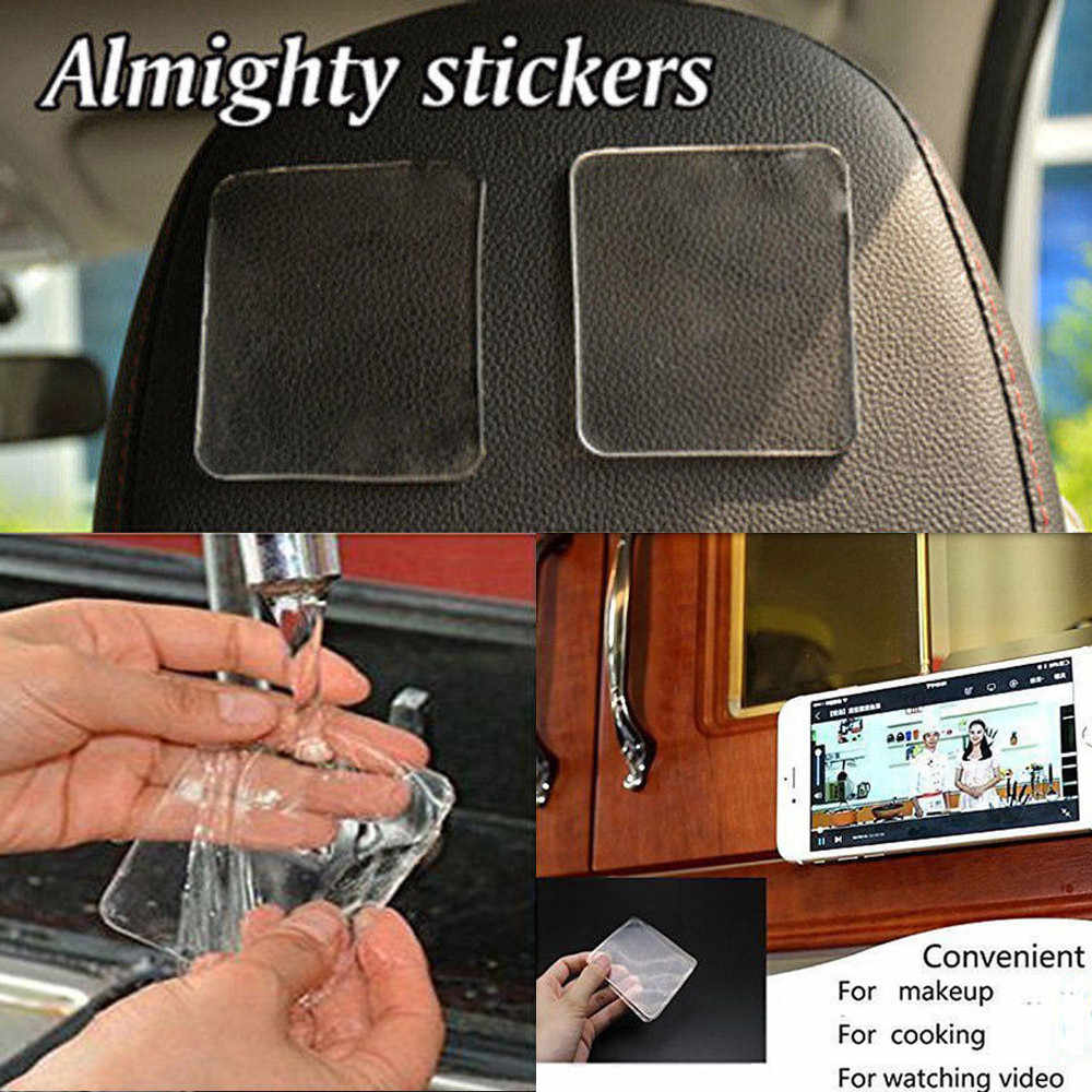 5 Pcs Car Magic Anti-Slip Pads Sticky Pad Non-slip Holder For GPS Cell Phone Automobiles Interior Accessories 60*75mm