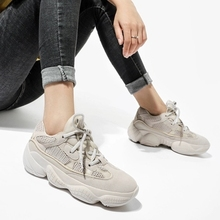 61b3e6890c Sapatos mulheres marca de luxo das mulheres sapatos velhos sapatos de  plataforma rendas sapatos casuais feio