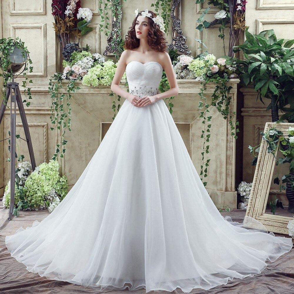 Colour Wedding Gown: Aliexpress.com : Buy Vivian's Bridal 2018 Simple Strapless