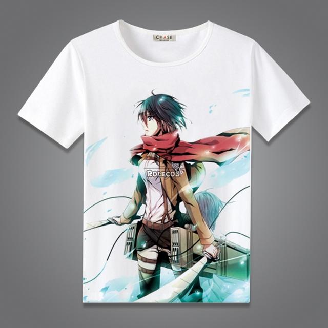 Attack on Titan Summer Fashion T-shirt Cotton