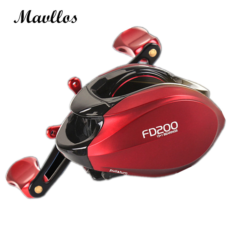 Mavllos 2017 Newest Centrifugal Brake Japan NMB Bearings Baitcasting Reel Left Right Hand Saltwater Bait Casting Fishing Reels emmrod 10 1bb fishing reels 6 2 1 bait casting reels left right hand fishing baitcasting reel wheel