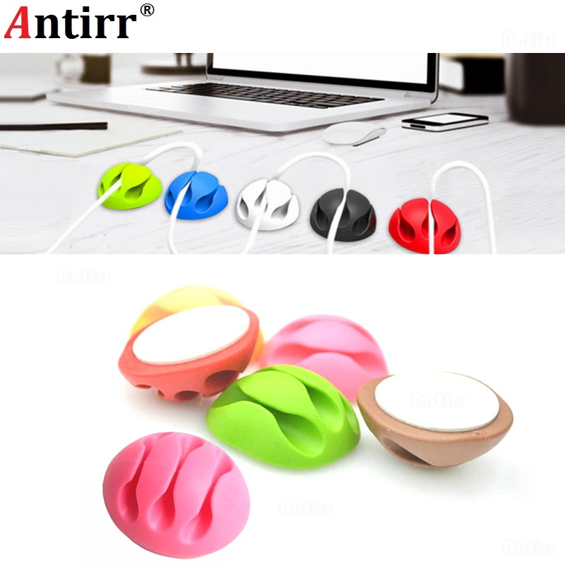 Consumer Electronics Multipurpose Phone Cable Winder Clamp Protector Earphone Ties Organizer Wire Cord Pen Desk Fixer Holder Data Line Tidy Collation Always Buy Good