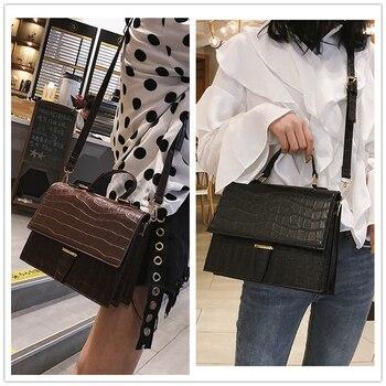 Burminsa Crocodile Print Handbags 1
