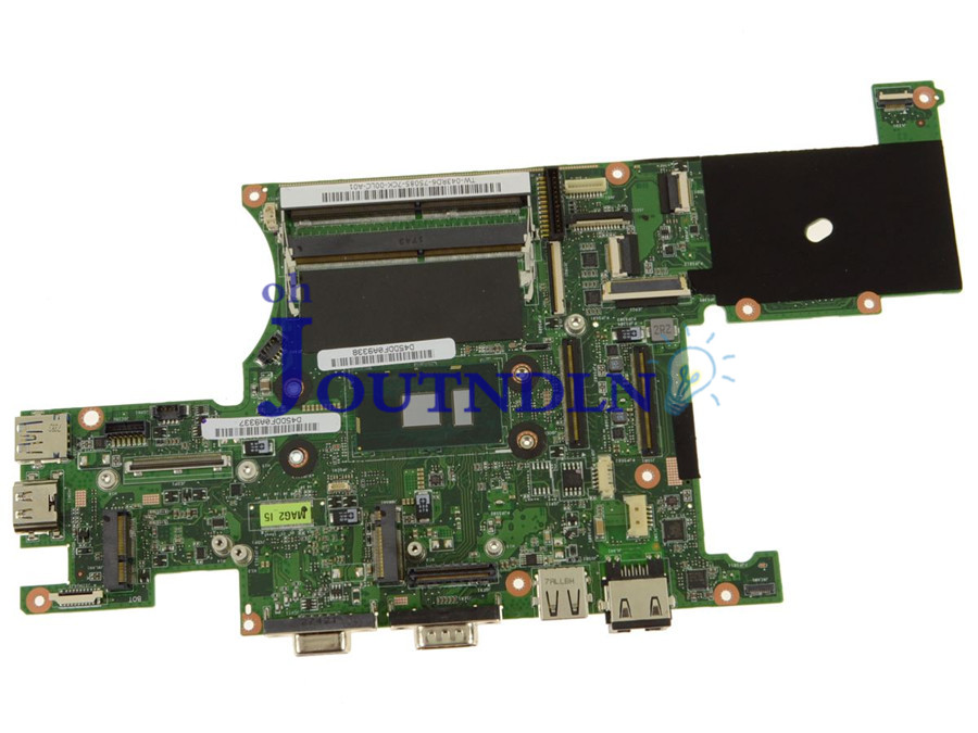 Joutndln For Dell Latitude 12 7214 Laptop Motherboard 43rd6 043rd6 Cn-043rd6 W/ Sr2f0 I5-6300u Cpu Ddr4 Moderate Cost Laptop Motherboard