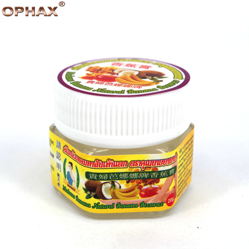 Madame Banana - Natural Banana Beeswax for Chapped skin,Dry wound healing, Stretch Masks Treatment, healthy Skin Care cream