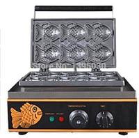 1PC FY 112 Electric Korea Fish Waffle Maker Cake Maker Electrothermal Snack Equipment Baking Machine