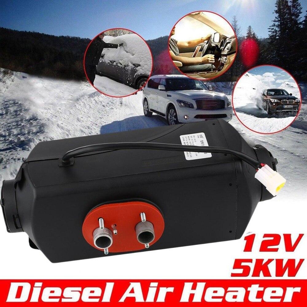 все цены на Durable Black 12V 5000W Air Parking Heater Planar For Truck Motor-Home Car Bus Low Emissions Low Fuel Consumption онлайн