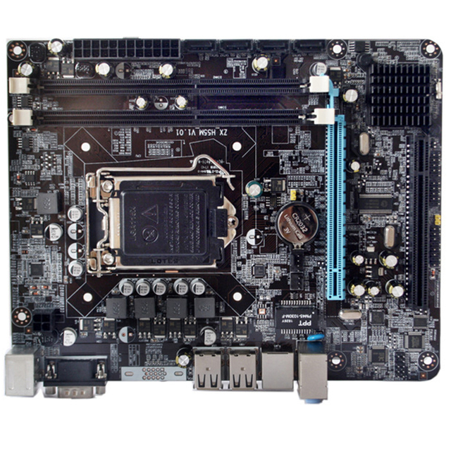 P55-1156 Parts CPU Gaming LGA 1156 Motherboard High Performance Accessories Desktop USB Powerful Support Interface 6 Channel