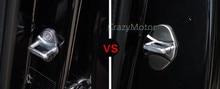 4 шт./компл. Из Нержавеющей стали Двери Автомобиля Крышка Замок Для X260 Jaguar XF 2009 10 11 12 13 14 15 2016