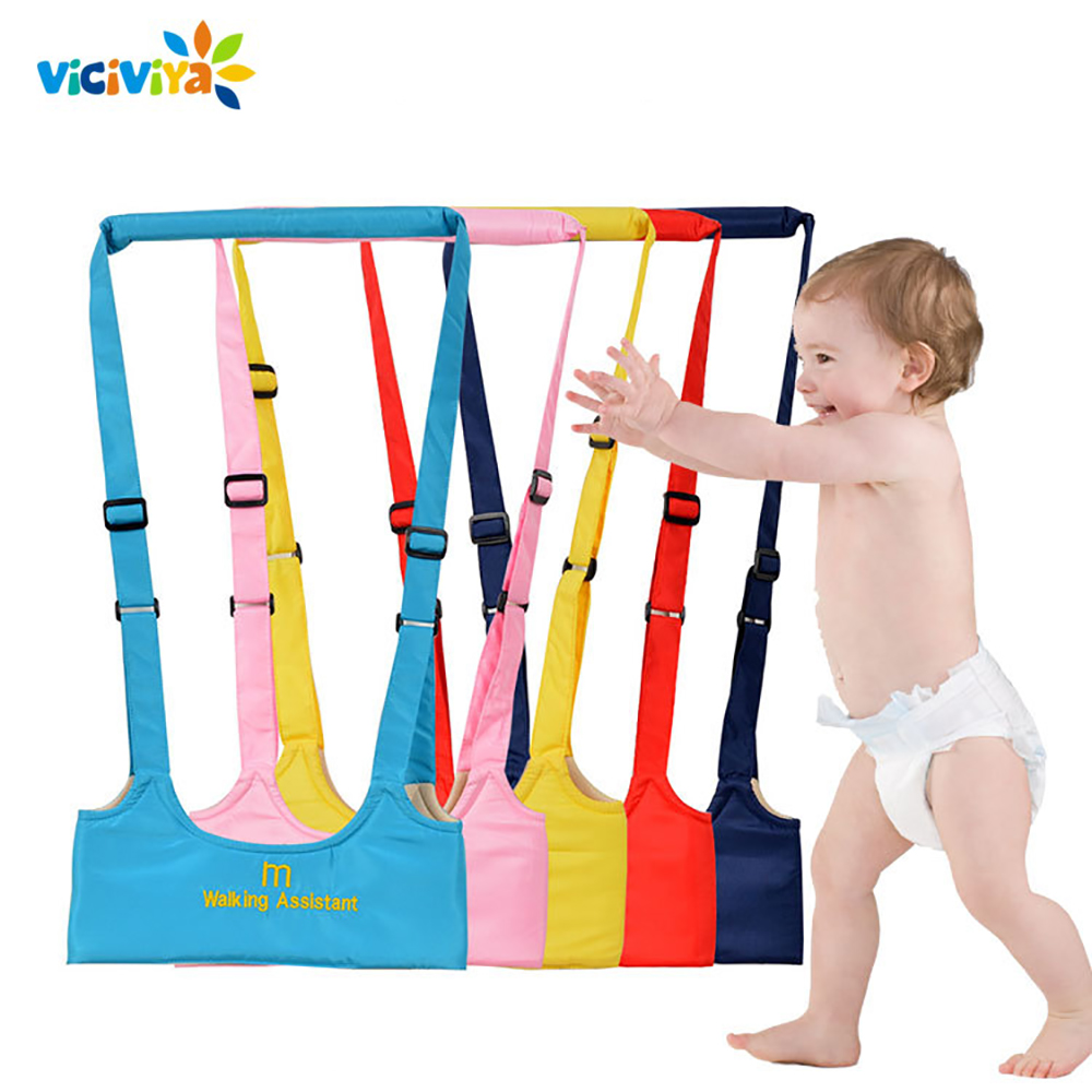 Baby Carrier Sling Harness Leash Learning Walk Assistant Belt For Child Walker