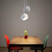Post-modern Restaurant Art Iron Pendant Lights Lighting LED Hemisphere Pendant Lamp Living Room Cafe Bar Hanging Lamps Luminaire цена