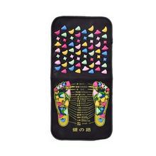 1PC Reflexology Walk Stone Foot Leg Pain Relieve Relief Foot Acupressure Massager Mat Health Care Walk Massage Pad massageador все цены