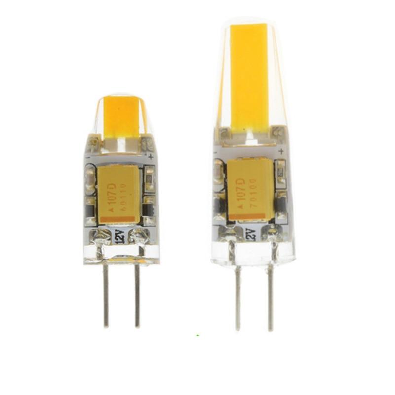 G4 LED Lamp Mini 12V DC/AC 3W 6W LED G4 LEDs Bulb Chandelier Light Super Bright G4 COB Silicone Bulbs Ampoule