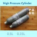 2016 Venta Caliente 0.35L 0.5L Buena Calidad Tanque de Cilindro de Aire Comprimido De Alta Presión Del Cilindro de Oxígeno Médico