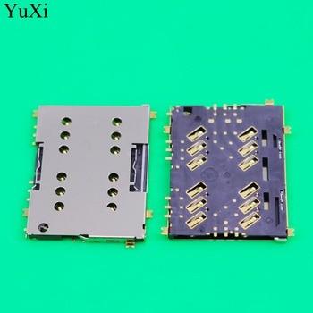 YuXi SIM Card Reader Socket For Sony Xperia M5 E5603 E5606 E5653 SIM Card Adapter Connector SIM Card Slot Holder Replacement аксессуар защитное стекло sony xperia m5 e5603 gecko 0 26mm zs26 gsonm5