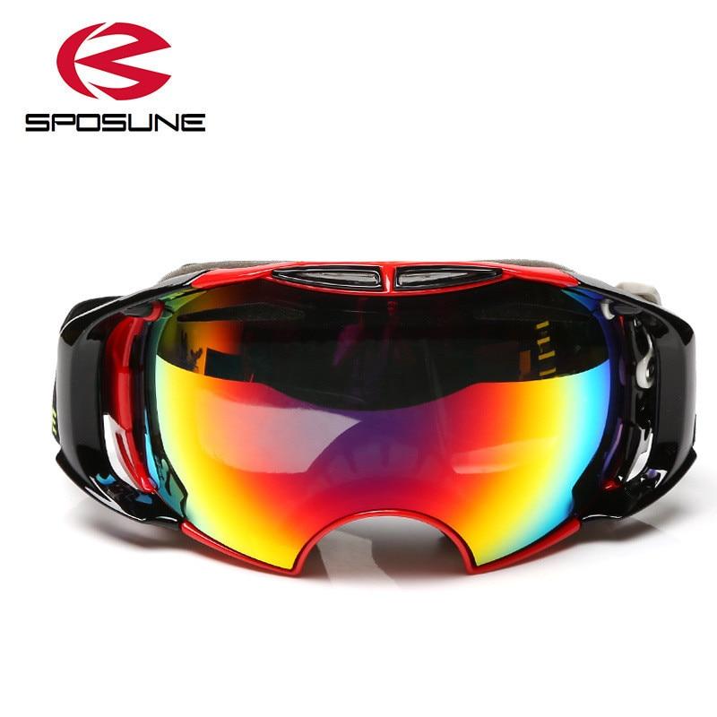 High Quality Ski Goggles For Men Women Snowboard Glasses Anti Fog Windproof Ski Googles Veiligheidsbril Skibrille Gafas Esqui