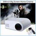 Оригинальный X6 Мини Пико Портативный 3D Проектор 80 Люмен HD домашний Кинотеатр Проектор Мультимедийный Проектор СВЕТОДИОДНАЯ Лампа Full HD 1080 P видео