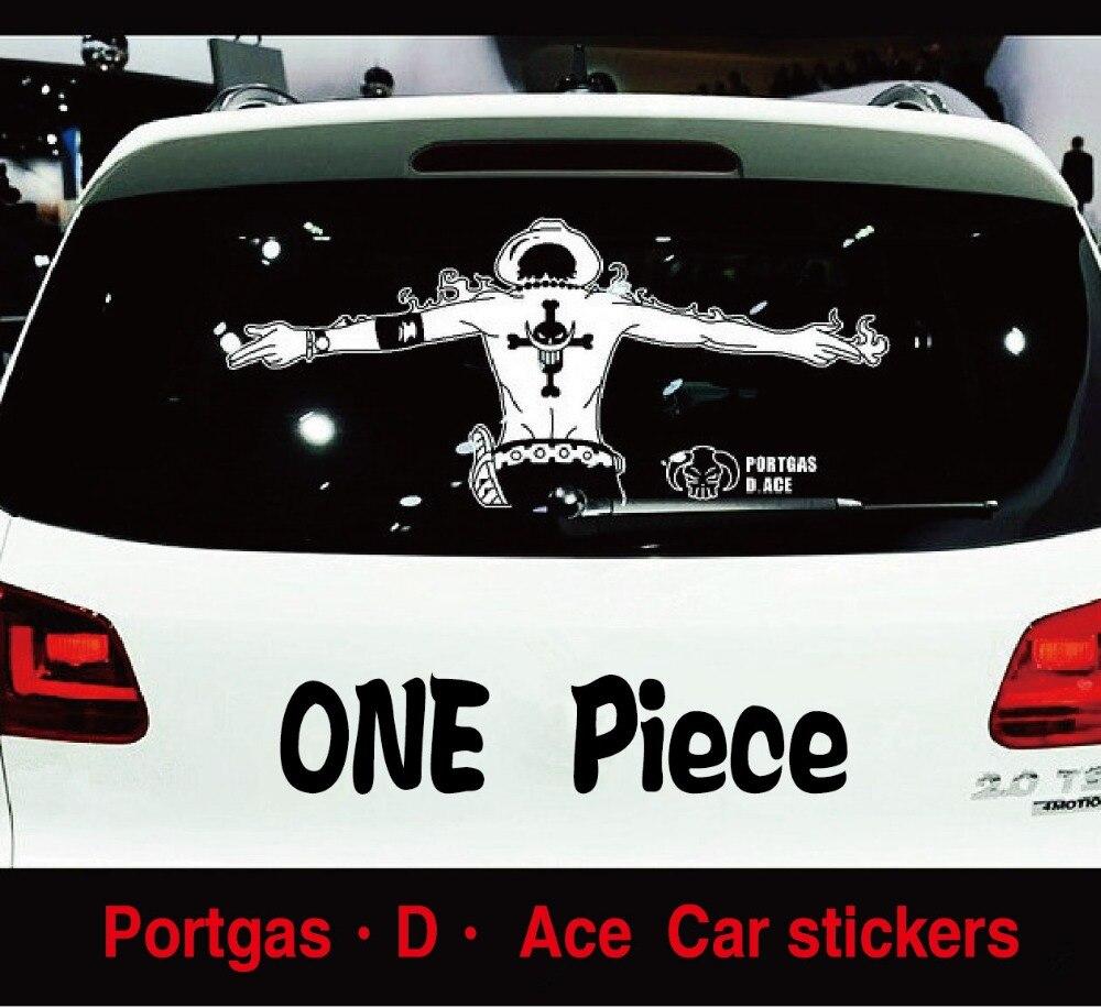 Car glass sticker design -