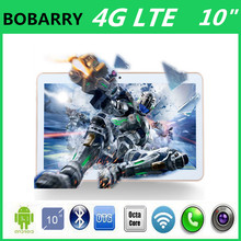 BOBARRY2016 New 10 inch Octa Core 4G Tablet 4GB RAM 64GB ROM 1280*800 Dual Cameras Android 5.1 Tablet 10 inch  Free Shipping