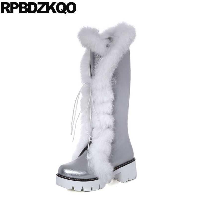 Knee Women Boots Winter Platform Ladies