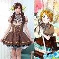 2017 love live Koizumi Hanayo cosplay candy costume Lovely cos Minami Kotori clothing dress ACG546