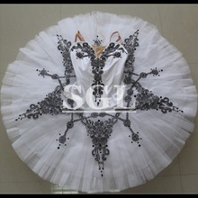 White Color Black Decoration Ballet Tutus Gift For Ballerina Kids  Classical. US  239.00   piece Free Shipping afbbfeb151bf
