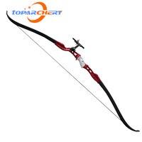 アーチェリーの弓66インチ26lbsポンド後ろに反らす弓用アウトドアスポーツ狩猟射撃弓ブルーブラックレッド色