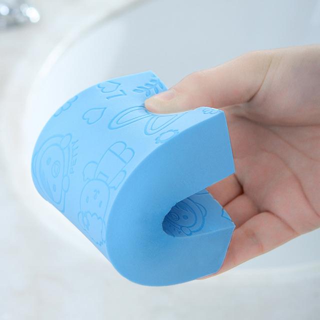 Sale 1PC 3 styles Soft Body Cleaning Bath Spa Sponge Scrubber Adult Bath  Sponge Cleaning Shower Scrub Bath Ball