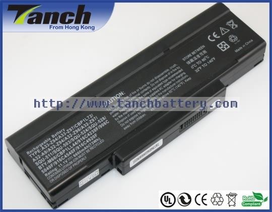 Laptop batteries for MSI BTY M66 BTY M67 CBPIL48 M660NBAT6 M660BAT 6 CR400 M665 SQU 706 GX400 VR440 10.8V 9 cell