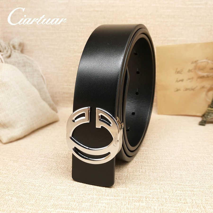 73103b813 2019 ciartuar luxury new fashion designer lady belt high quality genuine  leather of cowskin for women
