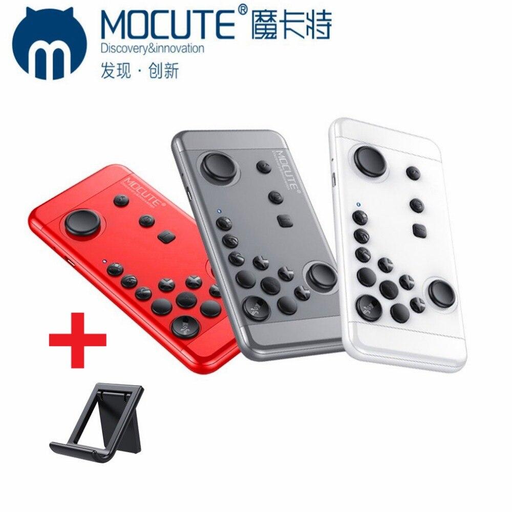 MOCUTE 055 Senza Fili Bluetooth 3.0 Gamepad Palmare Controller Joystick Per IOS Android Phone VR per Sciopero dei Re Con Il Supporto