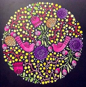 Image 3 - 2016 nowy Arrivel złagodzić stres dla dzieci dorosłych malowanie szkicownik 68 stron magia Mandala kolorowanka darmowa wysyłka