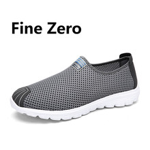 2017 Net work mesh calzado hombre Comfort Footwear lady flat trainers,male driving shoes soft sole couple daily functional shoes