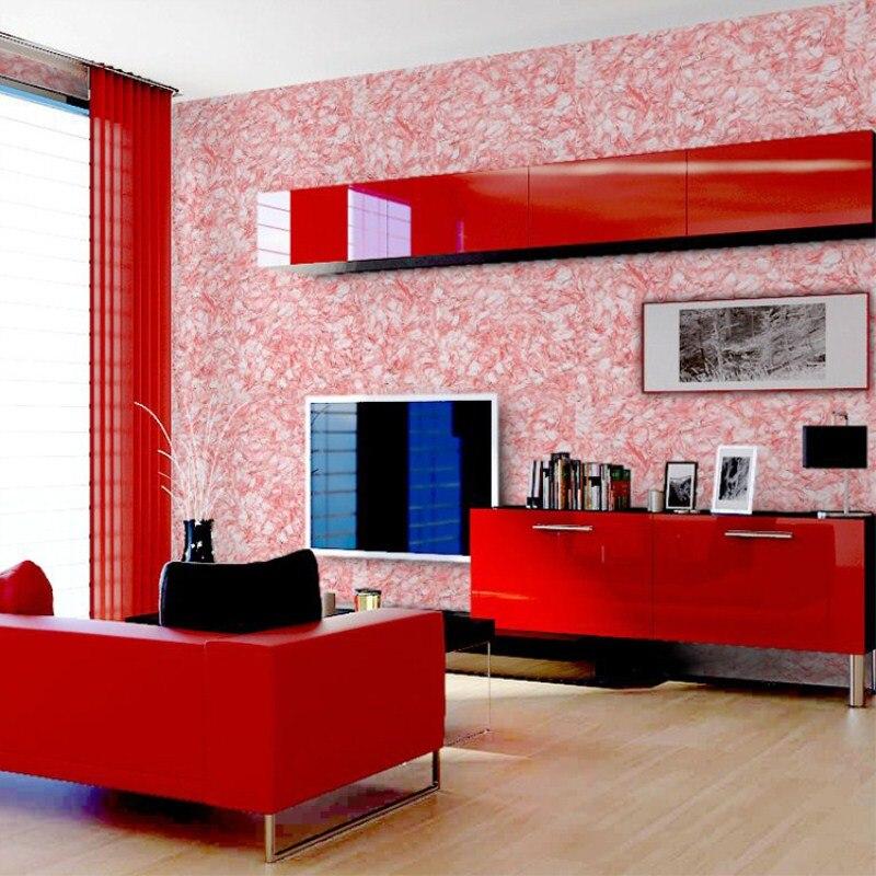 Wallcoat TV backdrop modern embossing effect fiber paint living room ...
