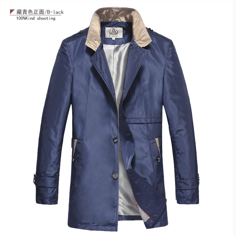 Popular Trench Coat Men Light-Buy Cheap Trench Coat Men Light lots ...