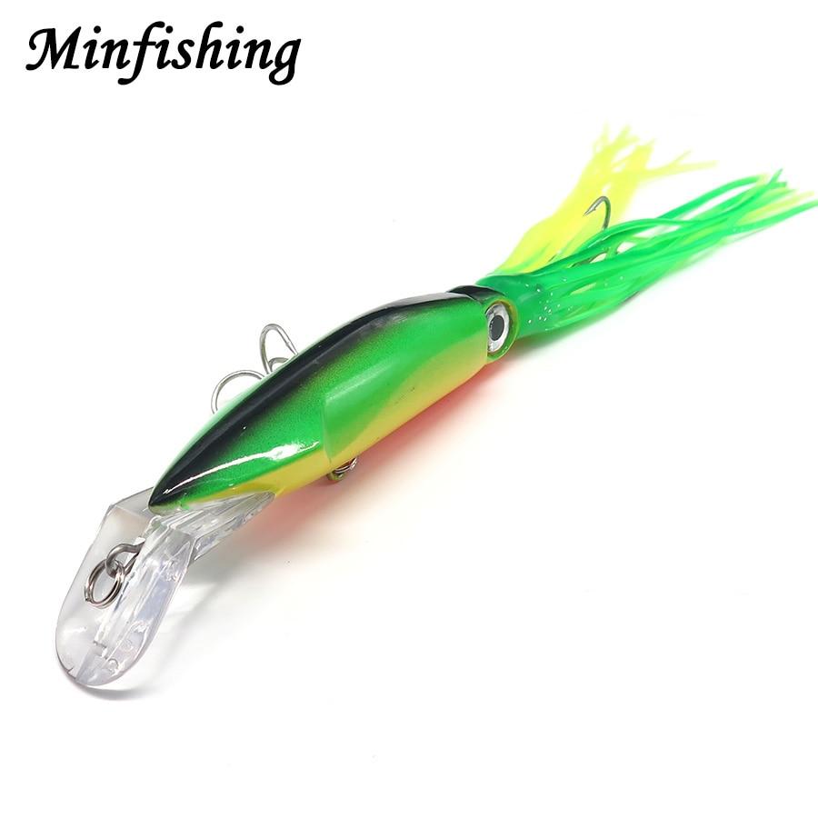 minfishing 1 pcs squid fishing lure 6 color big size. Black Bedroom Furniture Sets. Home Design Ideas