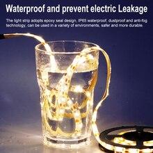 LED Strip Light 5V USB Lamp Tape Neon Led 5M Waterproof Under Cabinet Bed Lights LEDs TV background Bias Lighting