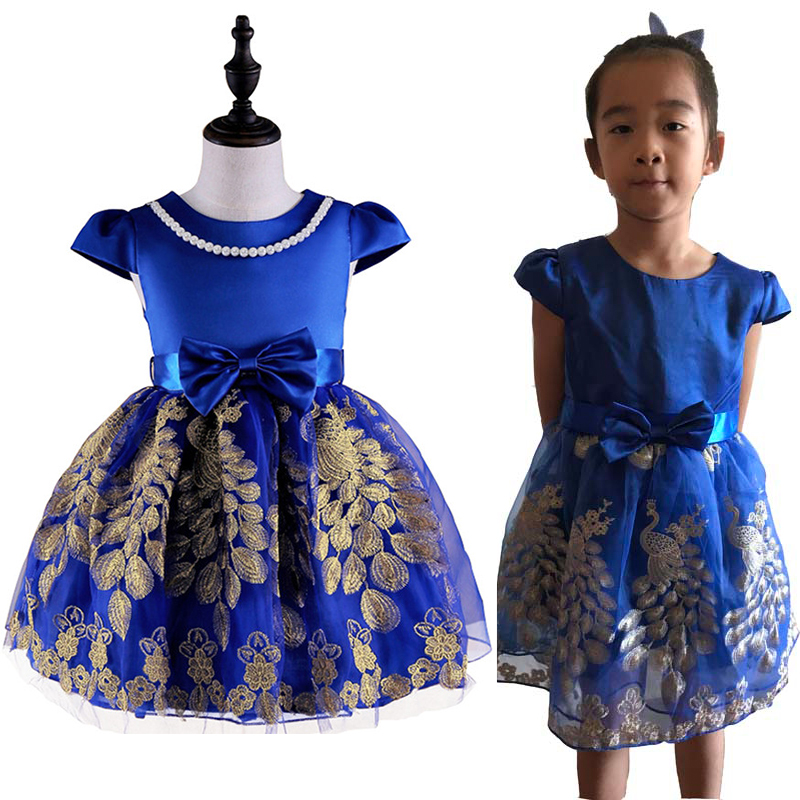 Girls Party Dresses Princess Tutu Dress Flower Girl Dresses Children Wedding Evening Dresses Toddler Summer baby kids cute Dress retail kids girls dresses summer wedding party princess flower girl dresses birthday tutu dress children clothing e9150