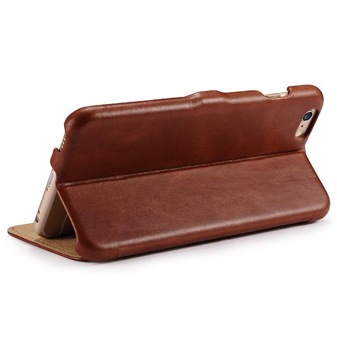 Γνήσιο ICARER Ultra Thin Vintage Flip Cover για iPhone6 - Ανταλλακτικά και αξεσουάρ κινητών τηλεφώνων - Φωτογραφία 5