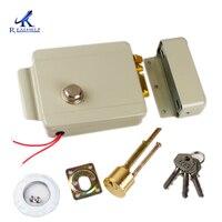 DC12V Stille Veilig Intelligente Motor Elektrische Lock zelfsluitende Afsluitbare Intelligente Stille Elektronische Lock gebruiken voor Toegang-in Elektrisch slot van Veiligheid en bescherming op