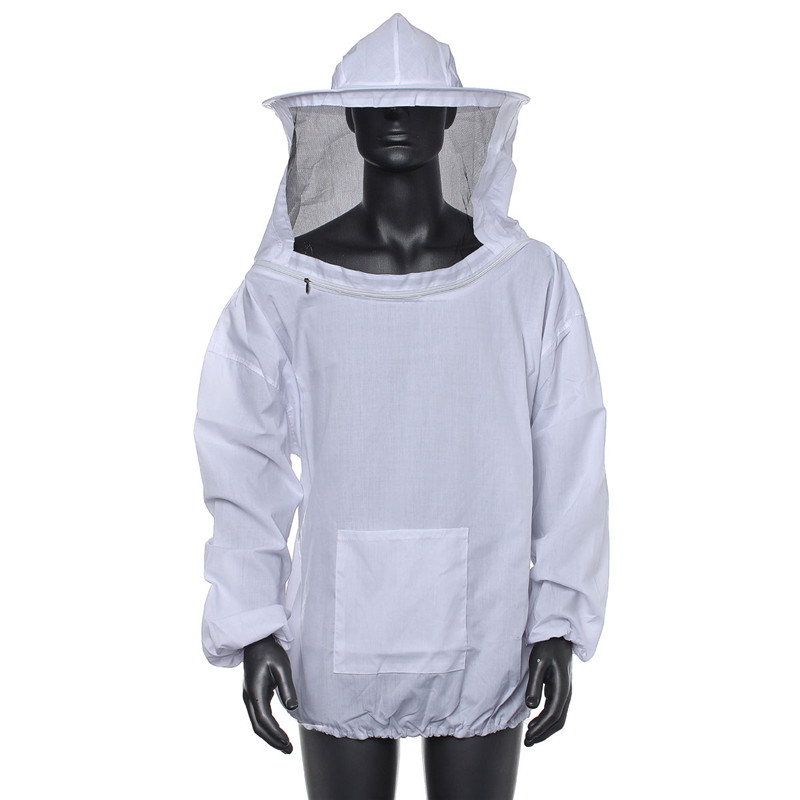 Durable Quality Beekeeping Jacket Veil Smock Equipment Supplies Bee Keeping Hat Sleeve Suit High-quality Cotton комплектующие для кормушек beekeeping 4 equipment121mm 91 158