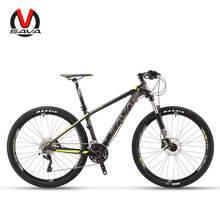 SAVA DECK300 30 Speed Carbon Fiber MTB Mountain Bike 27.5″ Ultralight Bicycle Cycle SHIMANO M610 Group Set & Hydraulic Brake