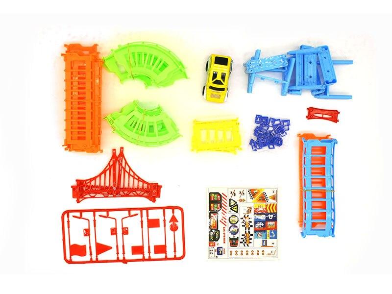 DIY-Track-Electric-Rail-Car-Model-Set-Gift-For-Kids-4
