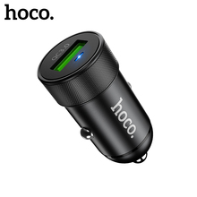 Hoco Quick Charge 3.0 Mini USB Car Charger For Xiaomi mi 9 iPhone Huawei p30 samsung QC 3A Fast Car-Charger Adapter
