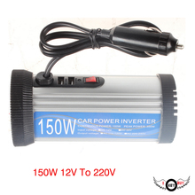 цена на I Key Buy 1PC 150W Solar Inverter 12V To 220V Repair Sine Wave Inverter Car Power Inverters DC/AC Converter
